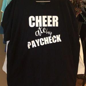 Women's new cheer mom shirt Xlarge